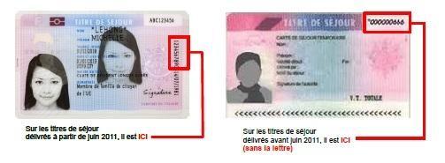 Renouvellement De Carte De Sejour Temporaire Et Pluriannuelle De Carte De Resident Et De Certificat De Residence Algerien Les Services De L Etat Dans Le Departement Nom Du Departement